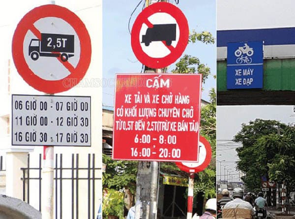Quy định giờ cấm xe tải TPHCM 2020