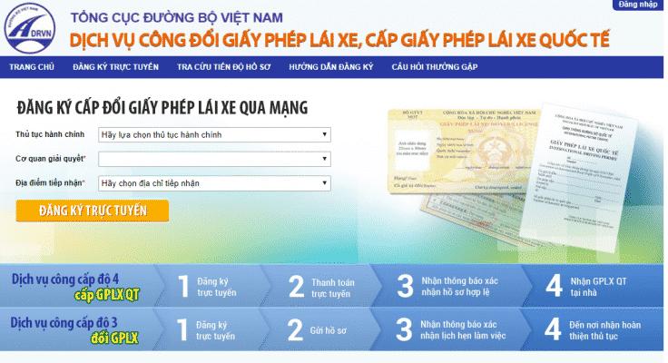 Hướng dẫn đổi GPLX