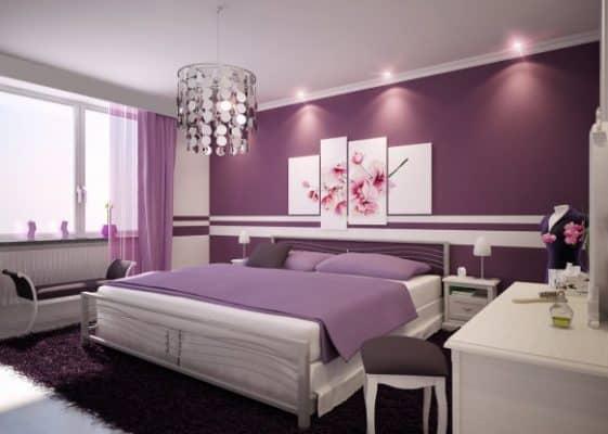 Màu sắc trong phòng ngủ giúp bạn thư thái hơn