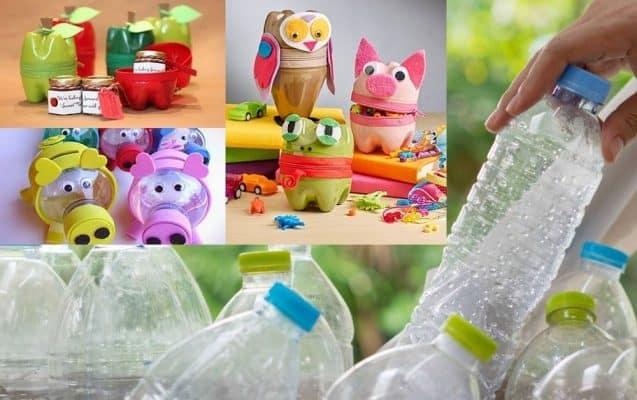 Top 10 cách tái chế chai nhựa thành những đồ vật tiện dụng