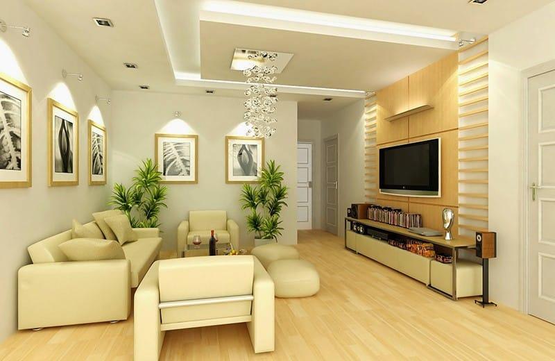 Thiết kế phòng khách cho người mệnh thổ