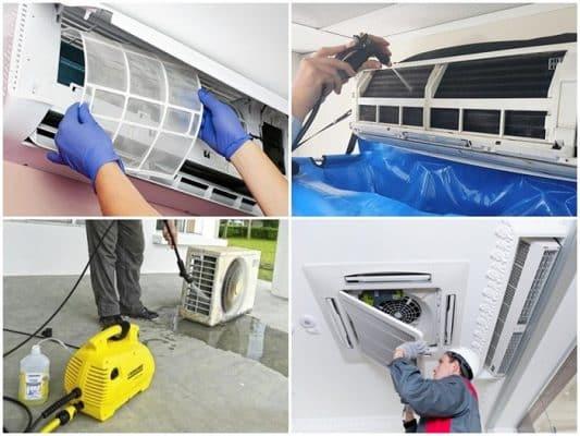 Những lưu ý khi vệ sinh máy lạnh tại nhà