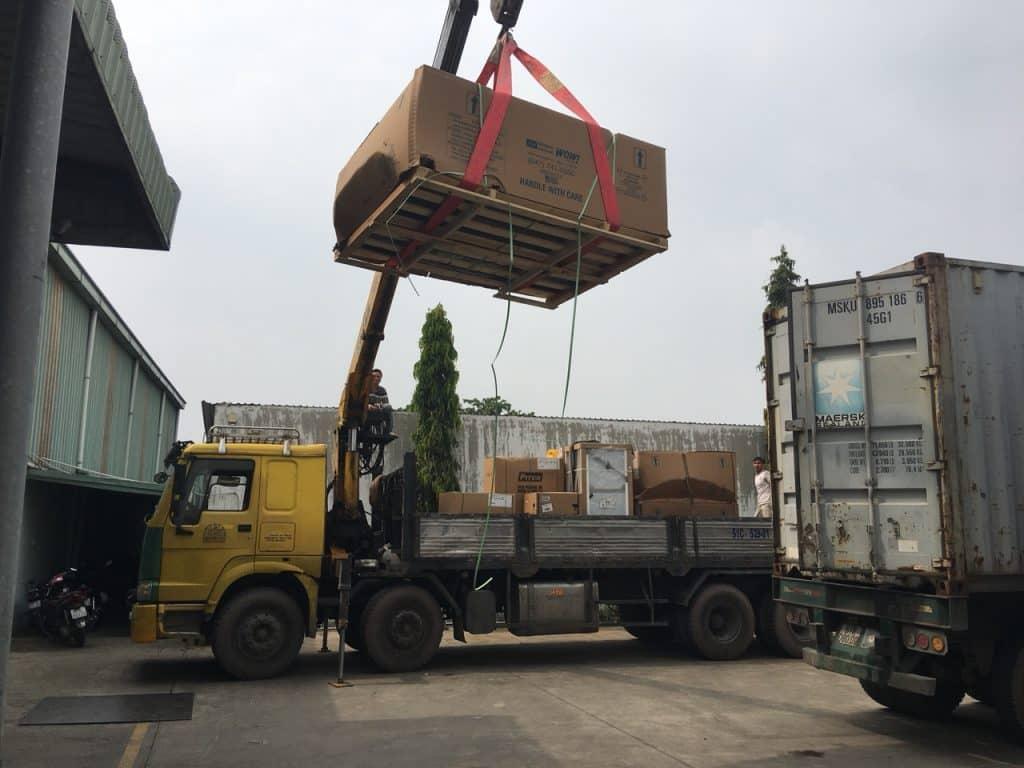 Dịch vụ chuyển kho xưởng trọn gói quận 6 tphcm