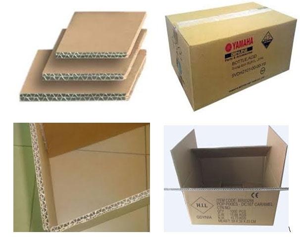 Thùng carton 5 lớp là gì? Cấu tạo của thùng carton 5 lớp