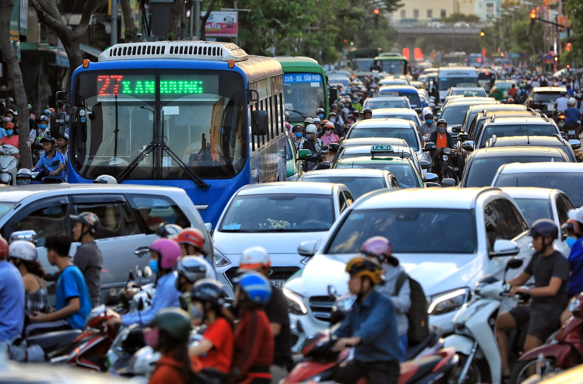 Những con đường hay kẹt xe nhất Sài Gòn bạn nên biết