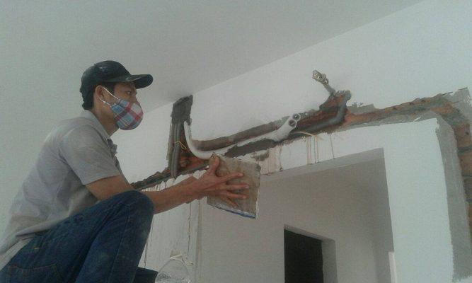 Quy trình thi công ống đồng máy lạnh âm tường