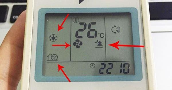 [Giải đáp] Ý nghĩa các biểu tượng trên remote máy lạnh?