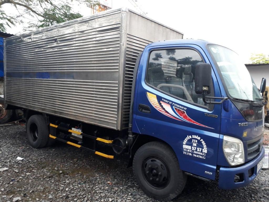 Các loại xe tải tầm trung
