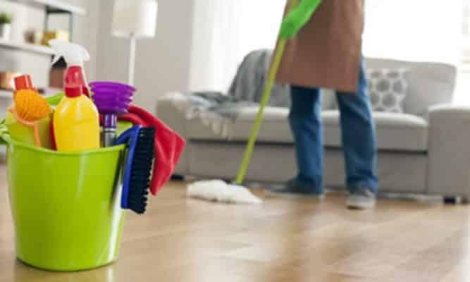 Dọn dẹp tổng thể căn phòng