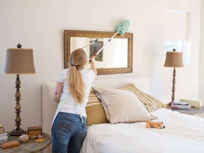 [Chia sẻ] Cách dọn dẹp phòng ngủ ngăn nắp, gòn gàng nhất