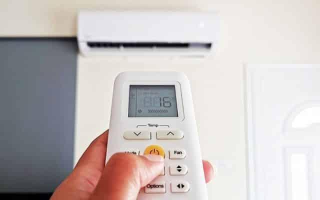 Nhiệt độ thấp nhất của máy lạnh là 16 độ C