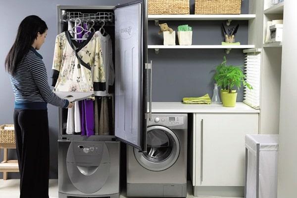 Sử dụng tủ quần áo