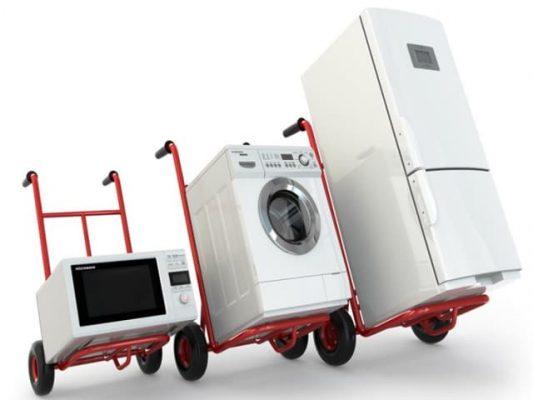 Vận chuyển máy giặt khi chuyển nhà