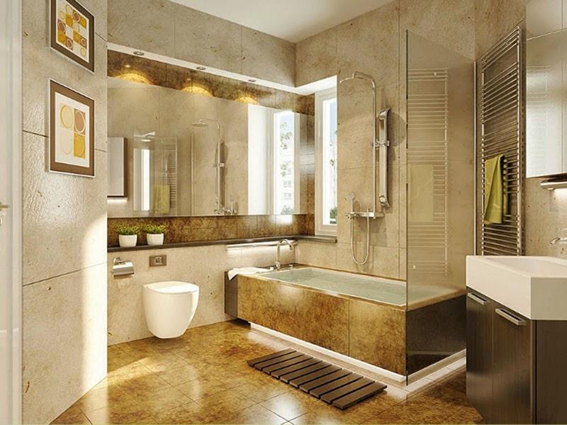 Phòng vệ sinh tất nhiên là địa điểm có vận khí không tốt nhất đối với một căn nhà