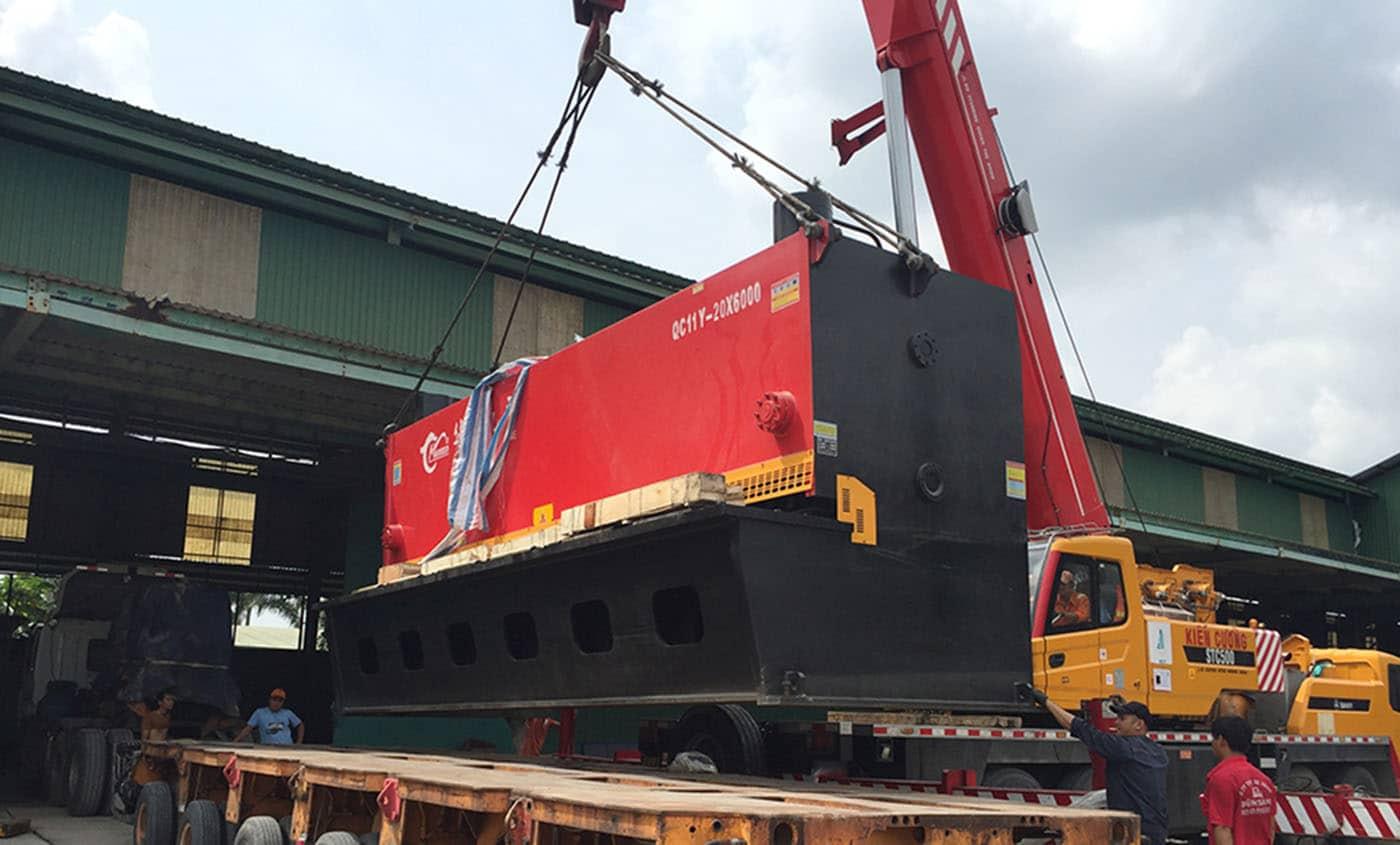 Chuyển dọn kho xưởng tại Long An – hãy thuê công ty Viet Moving
