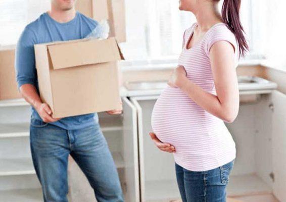 Chuyển nhà khi mang thai là chuyện bạn nên tránh