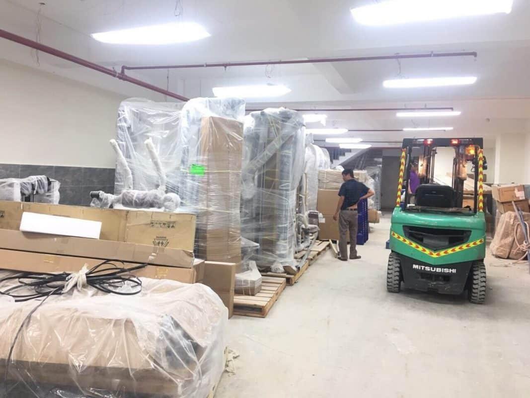 Quy trình di dời kho xưởng ở tại Ninh Thuận