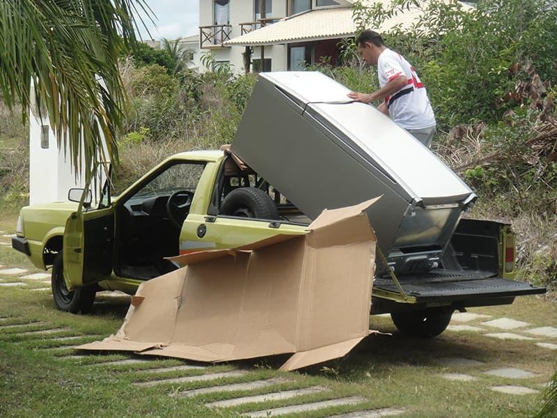 Cách vận chuyển tủ lạnh khi chuyển nhà