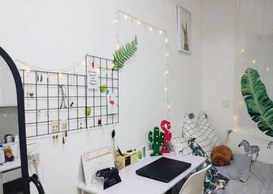 Trang trí phòng trọ đơn giản và nhỏ xinh