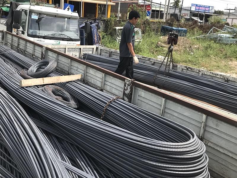 vận chuyển sắt thép Viet Moving