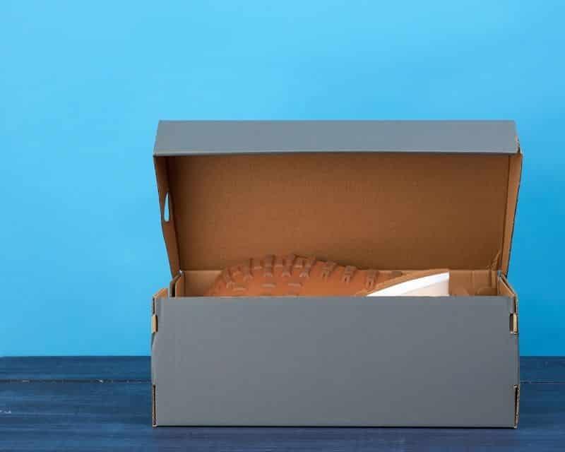 Thùng carton nắp rời đựng giày