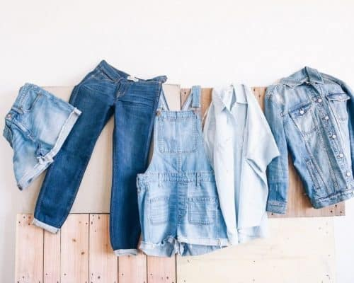 tận dụng quần áo thành vật dụng