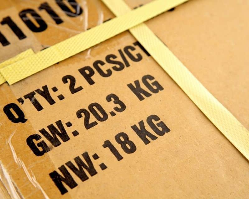 mẫu Shipping Mark