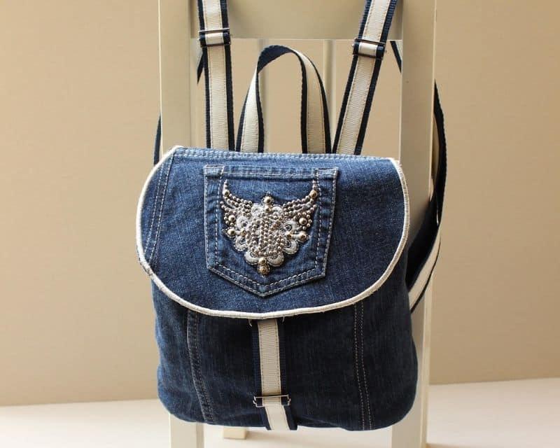 Tái chế quần áo cũ thành túi xách siêu tiện lợi