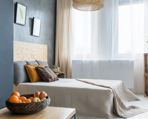 cách tiết kiệm không gian phòng trọ đơn giản